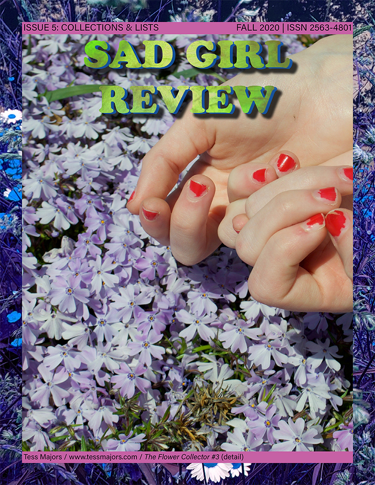 Cover of Sad Girl Review Issue 5